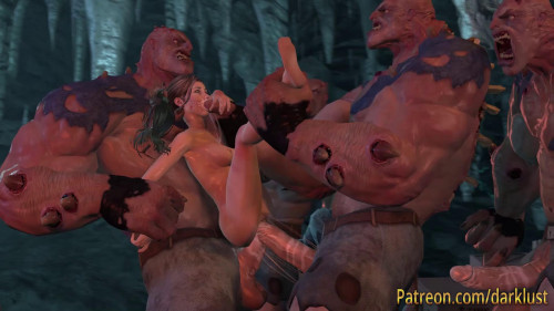 The Borders Of The Tomb Raider - HappyEnding