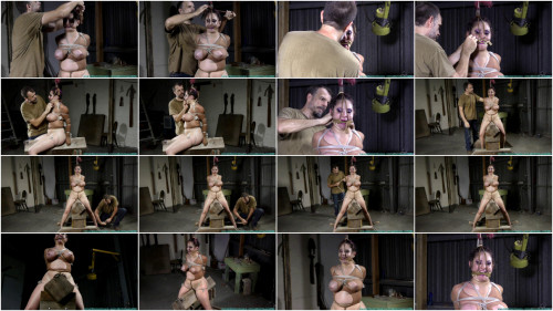 Gia Love Rides the  While Bound in Nylons - Part 3