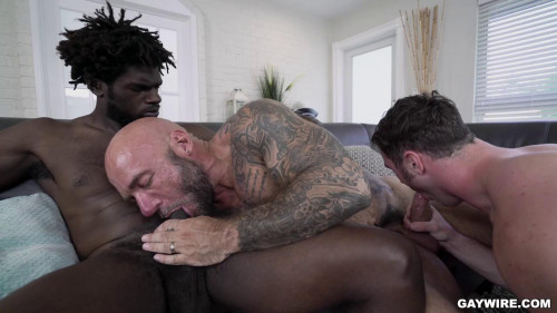Jason Collins, Devin Trez and Michael Boston (720p,1080p) [Gays,Jason Collins,Smooth,Anal,Tattoos]