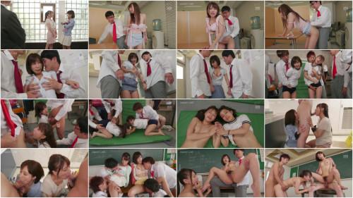 Minami Hatsukawa Minami Kojima Double Female Teacher Gangbang FHD