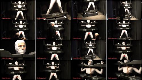 On the Restraint bondage Rack - Anna Rose SeriousBondage