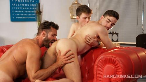 HK - Knock Knock: A Gay Porn Parody - Dani Robles, Josh Milk, Ruben