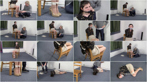 Angelica Lenn - Chairtied to Balltie