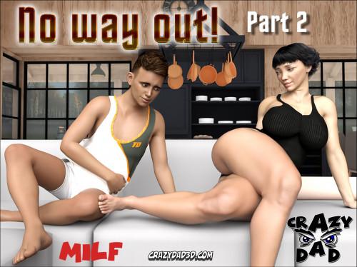 CrazyDad3D - No Way Out [milk,blowjob,crazydad3d]
