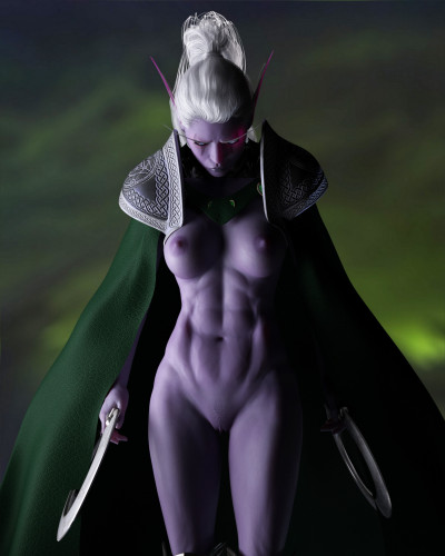 DarkenDen Art Collection [world of warcraft,elf,parody]
