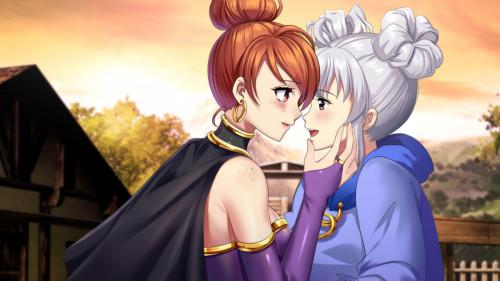 After I met that catgirl, my questlist got too long! [RPG,Lesbians,Big tits]