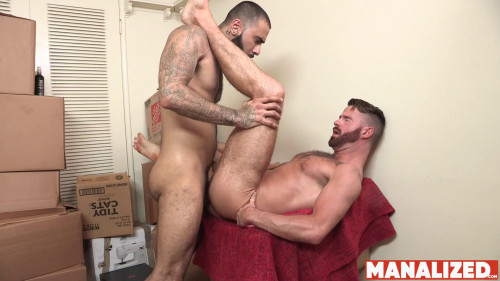 ML - Brendan Patrick, Rikk York - Cumslut Rumble (1080p)