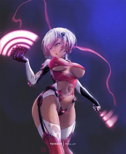 Mitsuart [erotic,Porn Comics,nier automata]