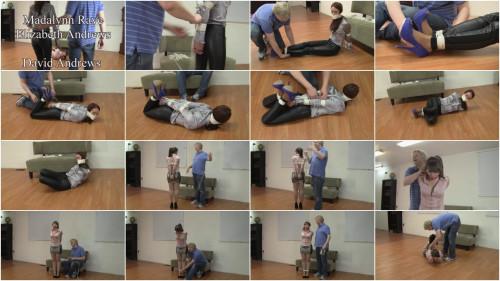 Madalynn Raye And Elizabeth Andrews Madalynns Introduction To Bondage (2015)