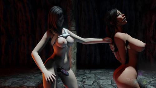 Domination Fuck With Lara Croft [2021,Lara Croft,Animation,Tifa Lockhart]