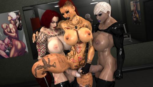 Joos3D 6 Porn Comics With Lara Croft The Tomb Raider [double penetration,huge dick,3D Porn Comic]