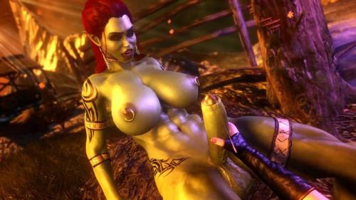 Orc Futa Taker [2021,3D,All sex]
