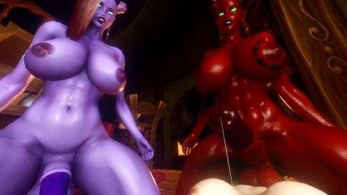 Draenei Futa Taker Pov [2019,3D,All sex]