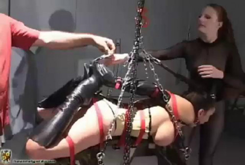 Starring Jewell Marceau and Lydia McLane [BDSM]