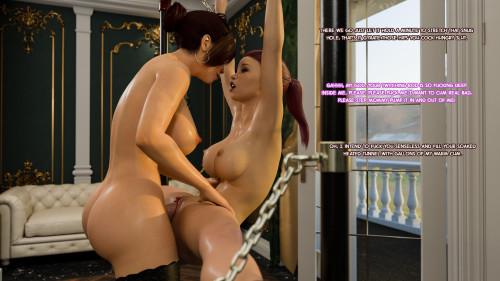 3Dzen - Training Days Part 2 [sperm in mouth,big breasts,huge dick]