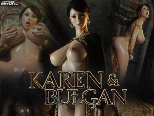 Jared999D - Karen and Bulgan vol 1-2 [sperm,creampie,3D Porn Comic]