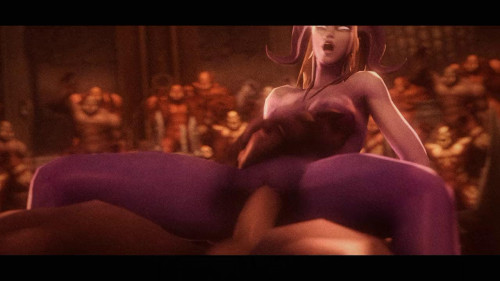 Arena of Depravity - Coliseum of Lust [Double Penetration,WoW,3DCG]