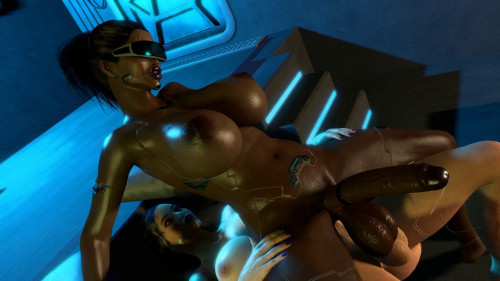Cyborg scene 2 [2020,All sex,3D]