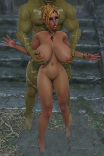 Forest Ruins [shassai3dx,3D Porn Comic,elf]