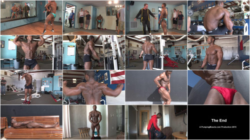 Pumping Muscle - Drew M - Scene 2 - HD 720p