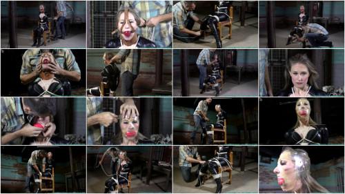 Bondage, domination and predicament for sexy slavegirl Full HD 1080p