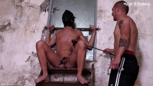 Electrified Agony [Gay BDSM,Twinks,Blow Job,Anal]
