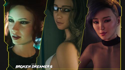 Broken Dreamers vol 9 [anal,blowjob,big ass]