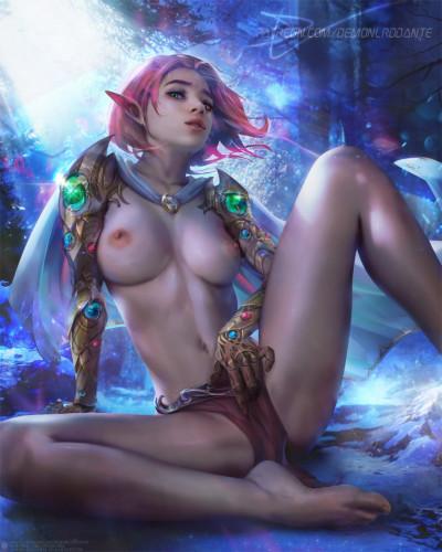 DemonLordDante [elf,dickgirl,double penetration]