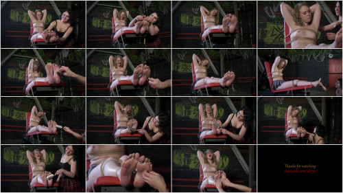 HD Pain play Sex Movies Yuno tickles Sara Part FIRST Foot tickling