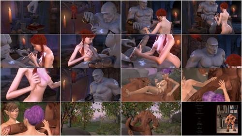 Stone Sorceress - Right Boobs
