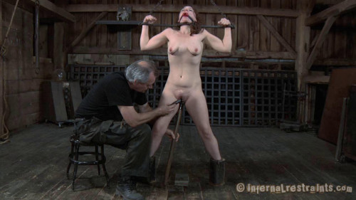 Infernal restraints maggie mead - work camp (part 1-2) 2012 [BDSM,InfernalRestraints,Maggie Mead,Metal Collar,BDSM,Crying]