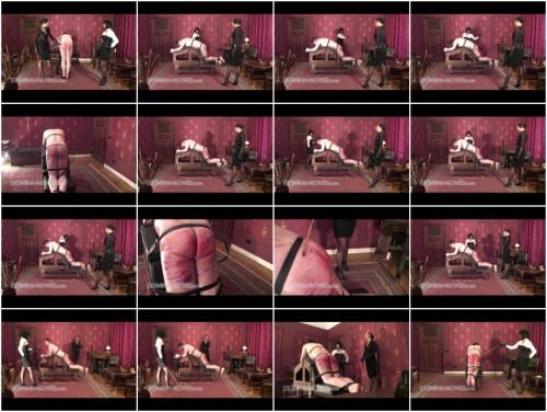 Lady Zoraya & Madame Catarina Brutal Real Caning