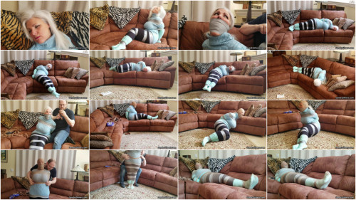 Sandra SIlvers - Sweater & Slouch Sock Struggles
