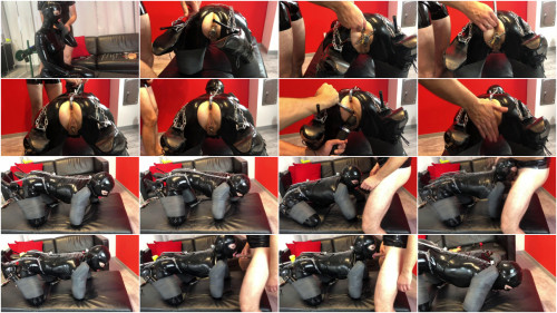 Bondage, pain and domination for very pretty model HD 1080p
