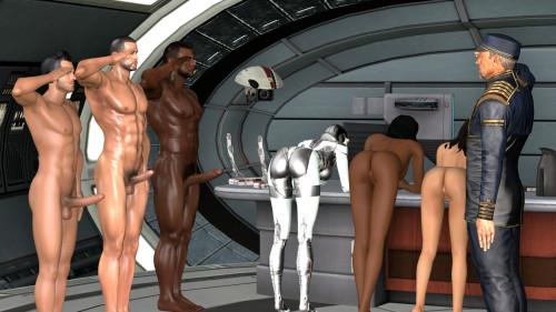 Porn Mass Effect 3D Photos [2017,Futanari,Anal,Bukkake]