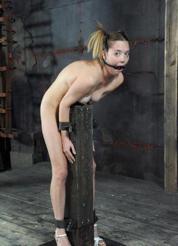 Extremely sensitive clit in bdsm torture