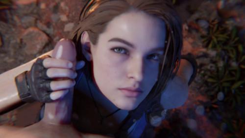 Jill Valentine Handjob [2021,All sex,3D]