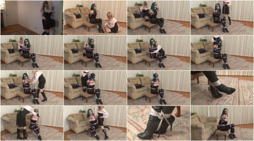 Sexy Catburglar Captured by Rival - Loren Chance tied by Lorelei