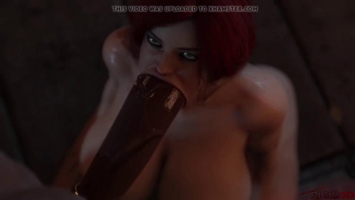 Triss fucked by a huge