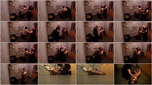 Hard Bondage for LittleRedGirl - HD 720p