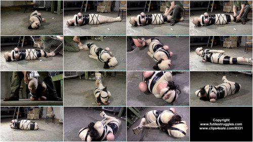 JJ Plush Mummified and Hogtied - Part 2