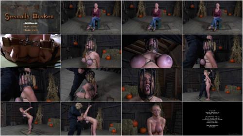 Big breasted blond Darling tutored for brutal deepthroat
