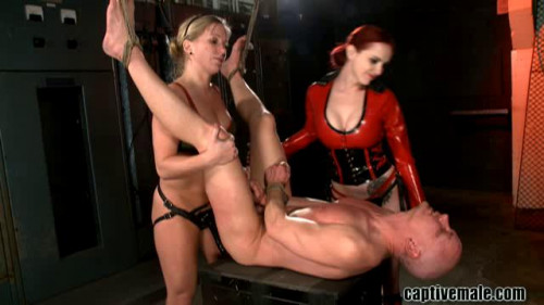 Captive Male Hot Sweet The Best Excellent Unreal Collection. Part 2. [2019,Femdom and Strapon]