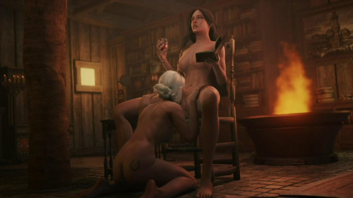 Ciri and Yen [2021,3D,All sex]