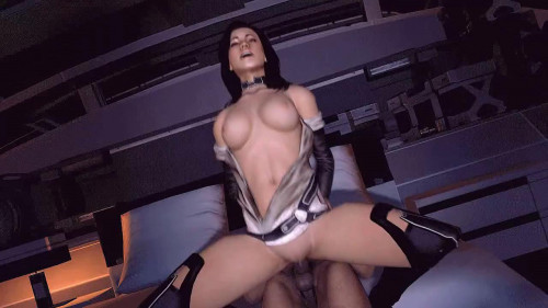Miranda Lawson Part 1 [2021,Masturbation,Sex Toys,3DCG]