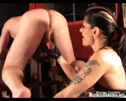 Mistress Dometria Videos Part 1 [Femdom and Strapon]