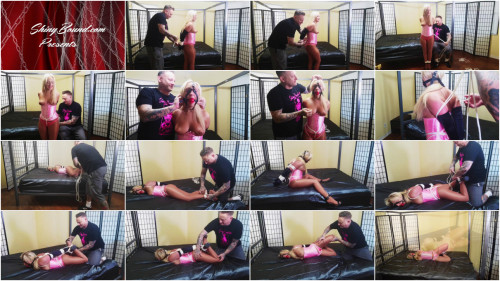 Tied Up in Pink Satin - Part 1 - Amber Deen - HD 720p