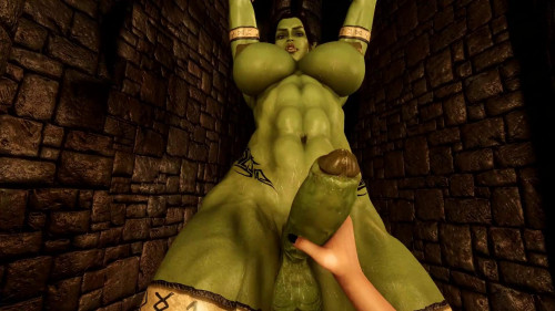 Captured Orc Pov [2021,3D,All sex]