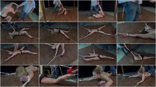 Isean: Spreadeagled in Red High Heels
