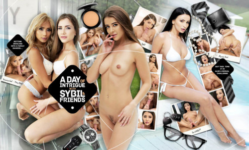 A day of Intrigue with Sybil and Friends [2019,hardcore,hardcore anal sex,anal fingering]